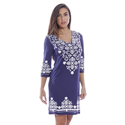 513acfc45dab 1883-Navy-XL Just Love Swimsuit Cover Up   Summer Dresses   Resort Wear