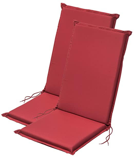 Traumnacht - Cojín para Silla de Respaldo Alto, Color Rojo ...