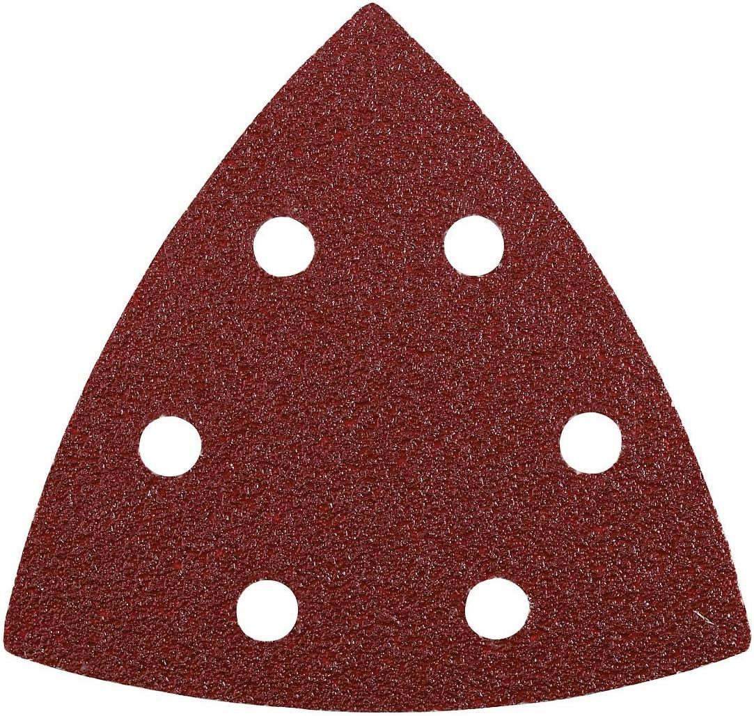 Triangles de pon/çage KWB Quick-Stick pour ponceuse delta 93 mm corindon pr/écieux, pour bois et m/étal 4928-70