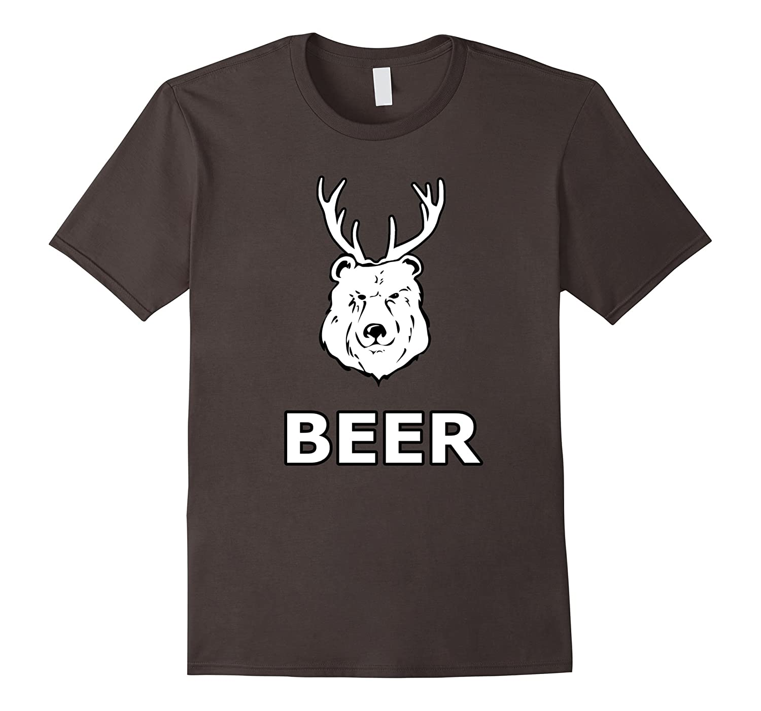 Bear + Deer = Beer, Funny outdoors shirt-TH