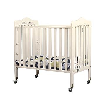 French White Orbelle Tina Three Level Mini Crib