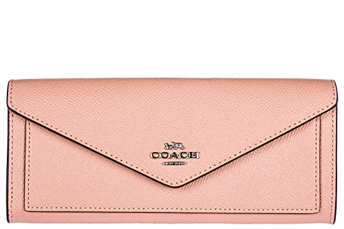 Coach monedero cartera bifold de mujer en piel nuevo rosa: Amazon.es: Zapatos y complementos
