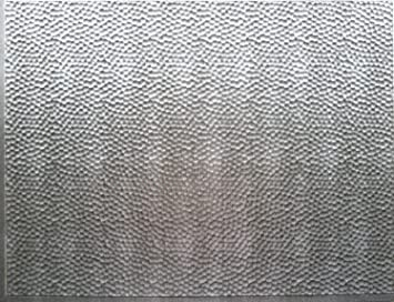 Amazon.com: RETRO ART Crosshatch Silver Backsplash Panel ...