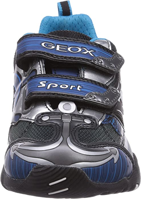 Geox Jr Light Eclipse, Sneakers per Bambini e Ragazzi