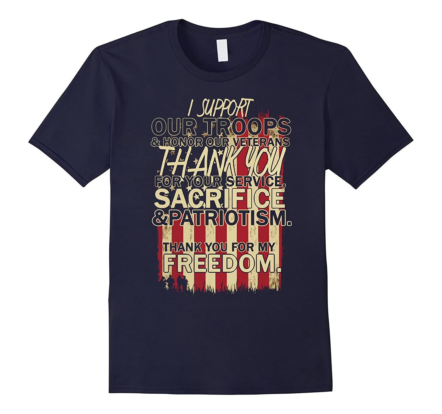 I Support Our Troops TShirt-Art