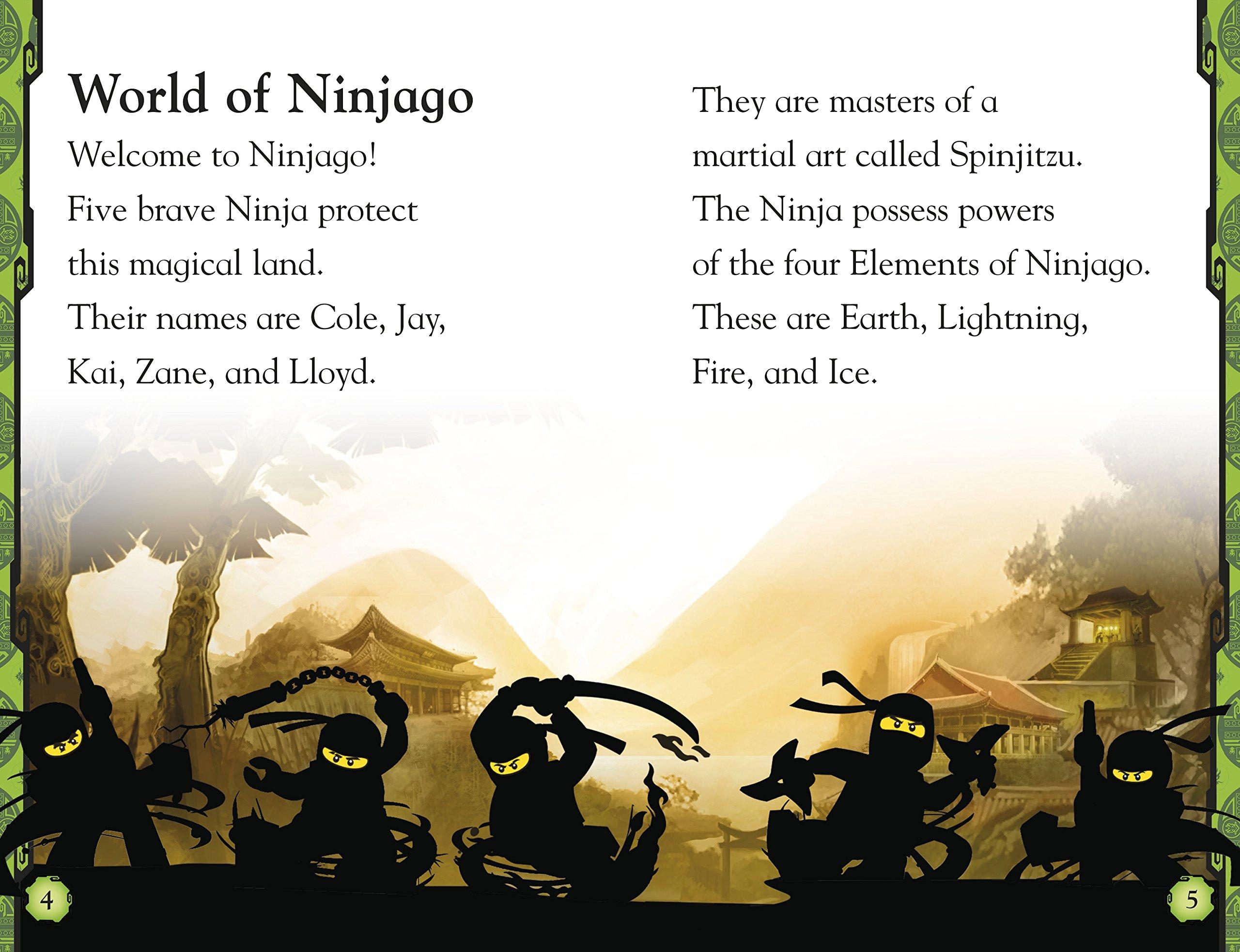 Ninja, Go! DK Readers: Level 2; Ninjago-Masters of Spinjitzu ...