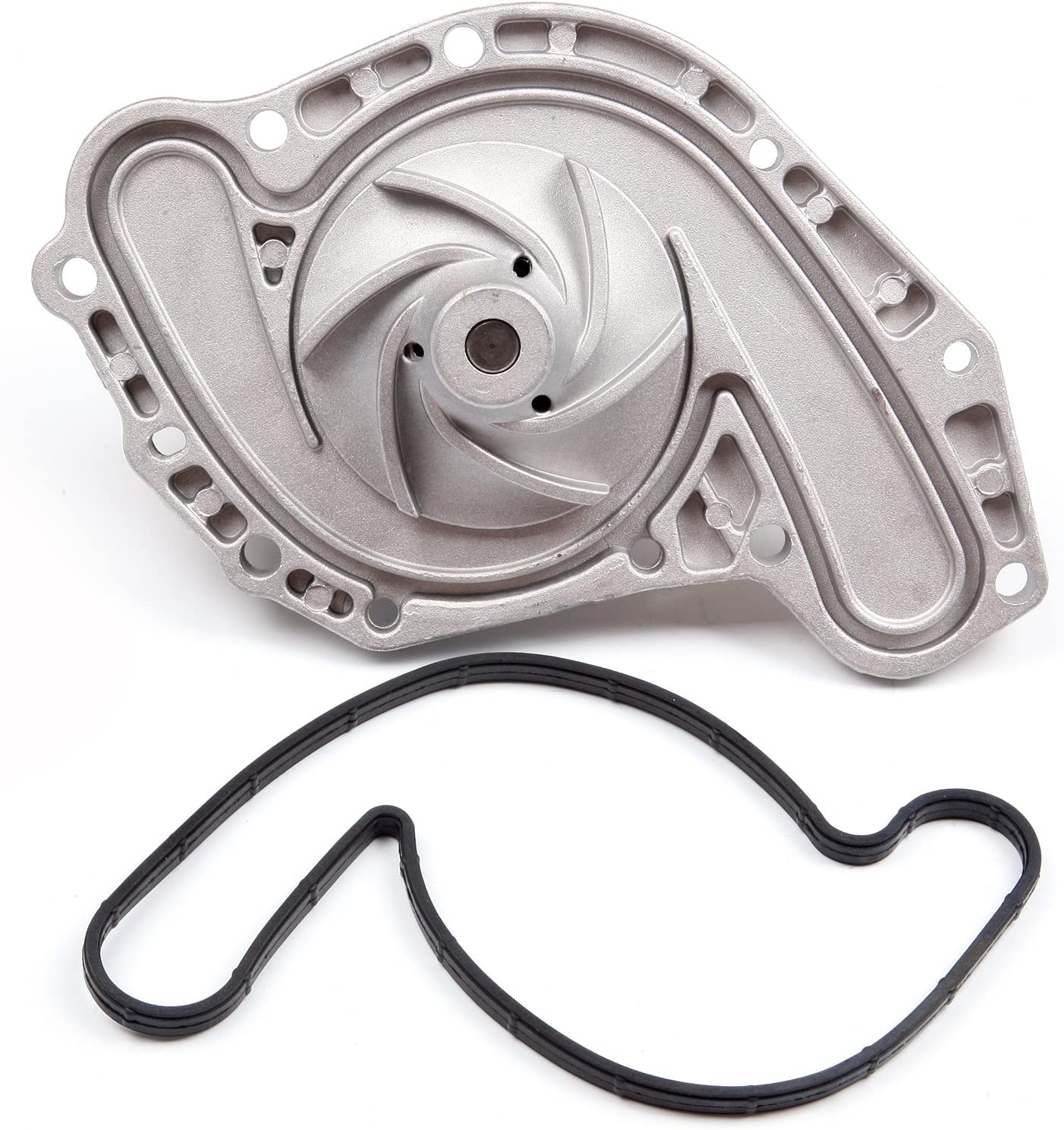 TUPARTS Timing Belt Kit with Water Pump Tensioner Bearing Replacement for 2005-2010 Chrysler 300