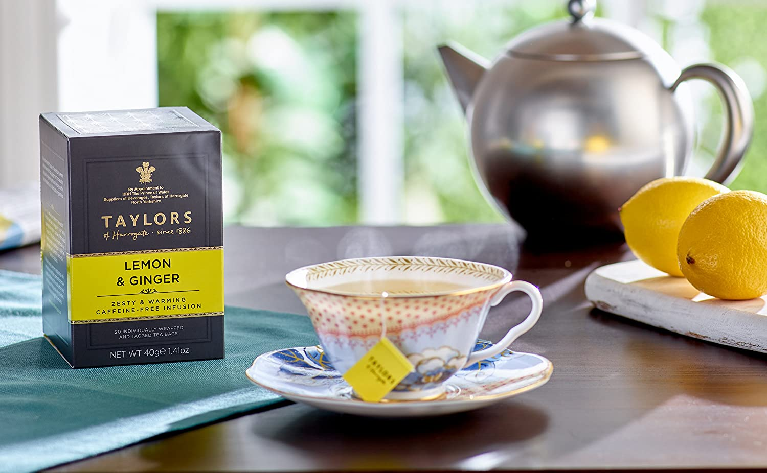 Taylors of Harrogate Lemon & Ginger Herbal Tea