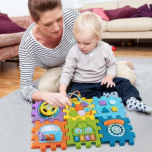 Juguetes para Bebé 6-18 meses Juguete Cubo de Actividades para ...