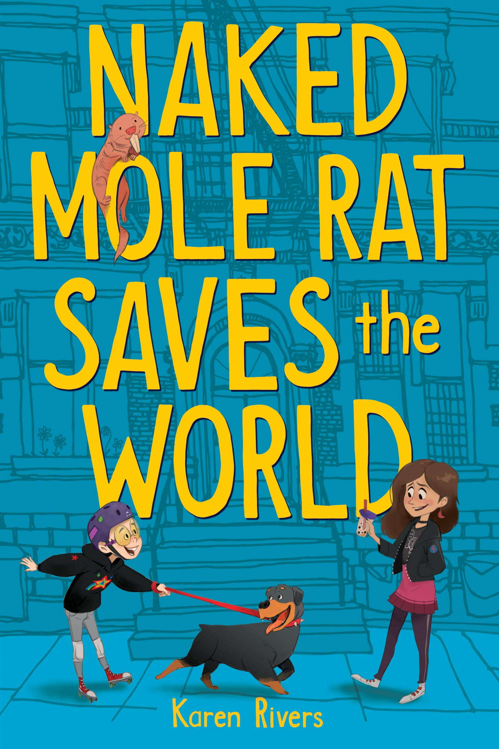 Image result for naked mole rat saves the world