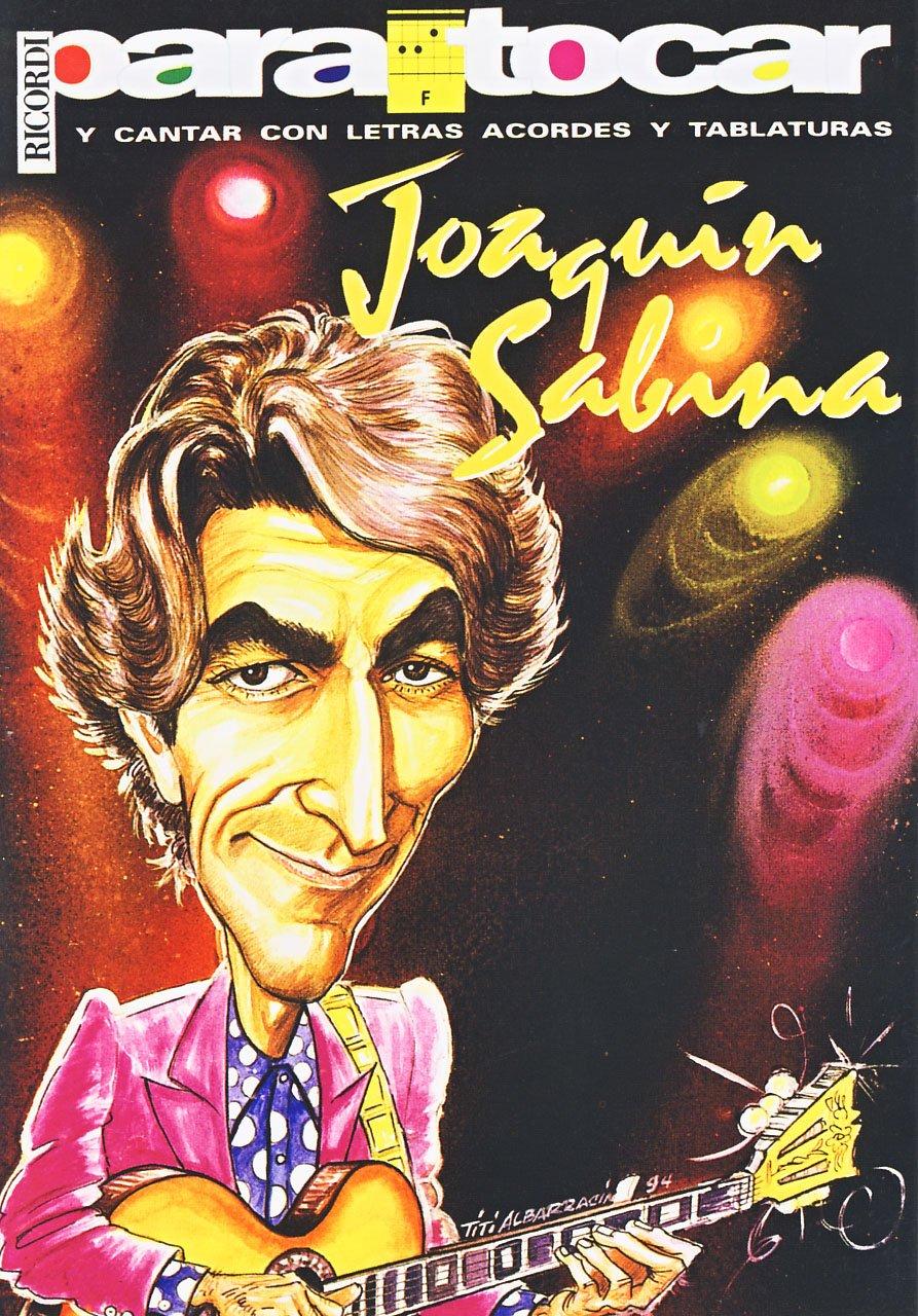 SABINA Joaquin - Cancionero Vol.1 Letras y Acordes para Guitarra ...
