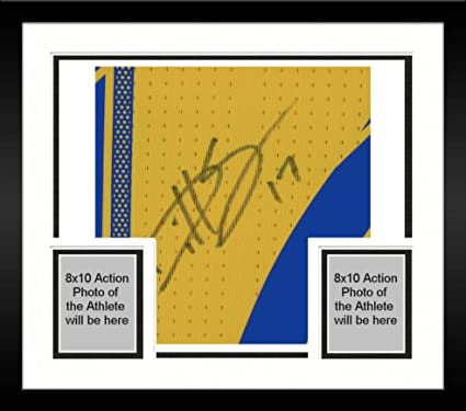 1d7caed4842 Image Unavailable. Image not available for. Color: Framed Dillon Serna Colorado  Rapids Autographed Match-Used Yellow #17 Jersey from the 2018