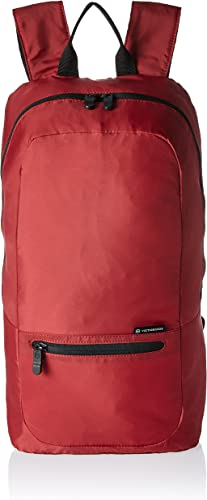 Victorinox Packable Casual Lightweight Backpack, Red, 18.1-inch