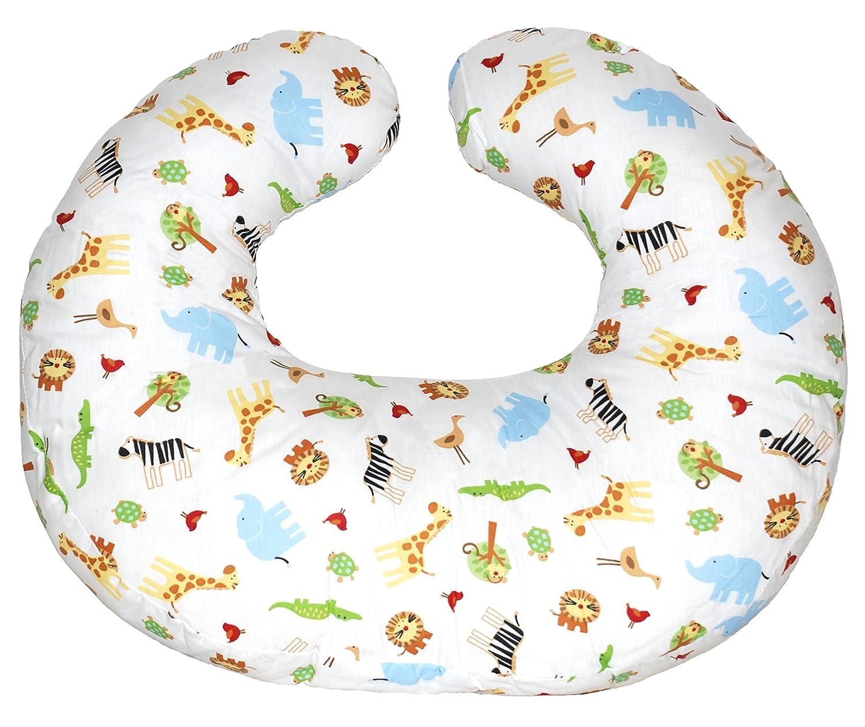 Jolly Jumper Hula Nursing Cushion- White Safari, One Size 239-10