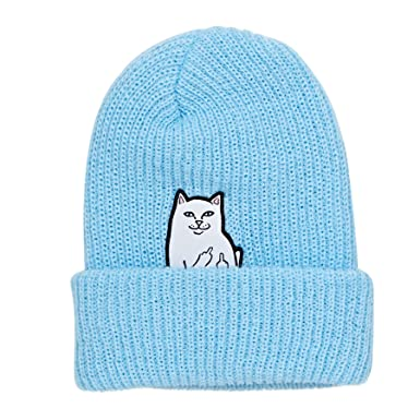 2bc9441130e49 Rip N Dip Lord Nermal Beanie One Size Blue at Amazon Men s Clothing ...