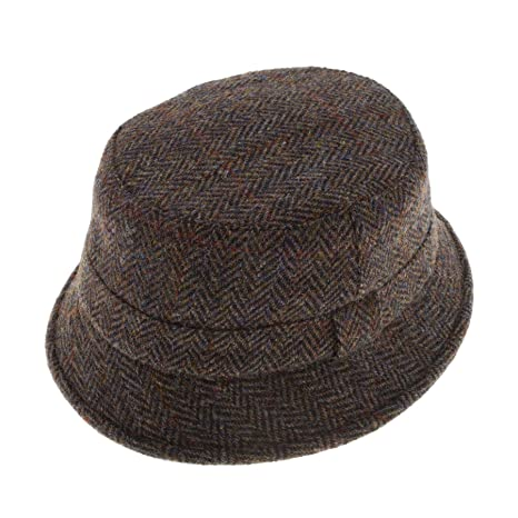 f315801751ee1 Failsworth Harris Tweed Grouse Hat  Amazon.co.uk  Clothing
