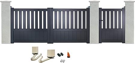 sélectionner pour le meilleur pas cher à vendre plus grand choix de Portillon manuel 1040 x 1350 mm + portail battant en ...
