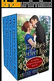 The Duke's Perfect Kiss: A 4-Book Regency Romance Box Set (Regency Romance)