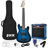 LyxPro 30 Inch Electric Guitar Starter Kit for Kids with 3/4 Size Beginner's Guitar, Amp, Six Strings, Two Picks…