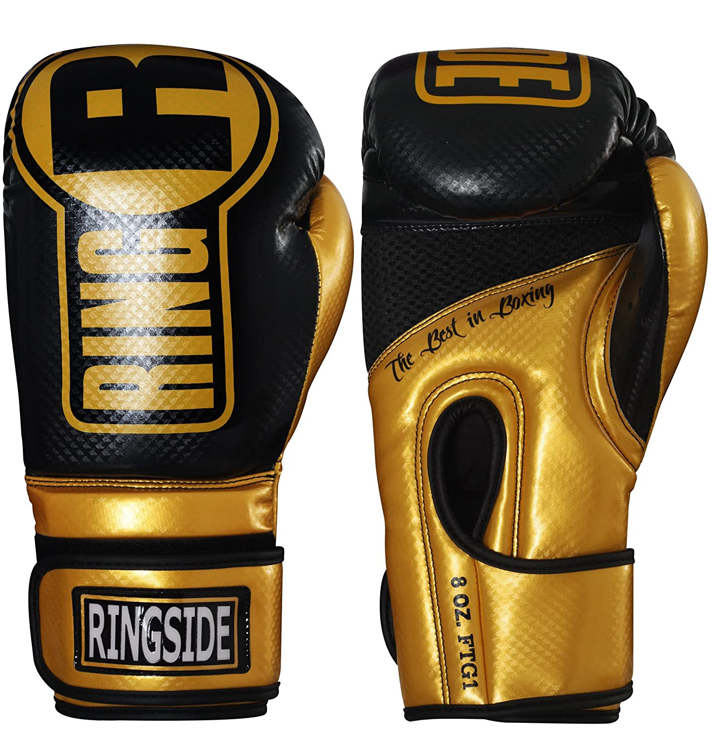 Ringside Apex Bag Gloves Ringside Inc. FTG1 BL/WH L/XL-Parent
