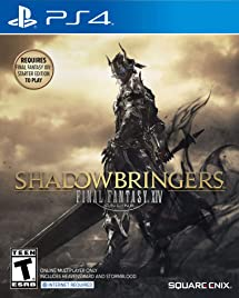 FINAL FANTASY XIV: Shadowbringers - PlayStation 4     - Amazon com