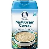 Gerber Multigrain Baby Cereal, 8 oz (Pack of 6)