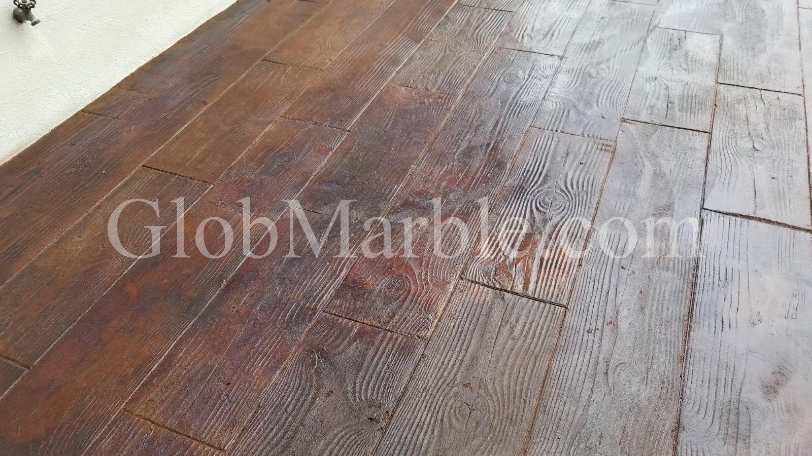 Wood Grain Texture Concrete Stamp Mats SM 5000/3. Wood Plank Woodgrain