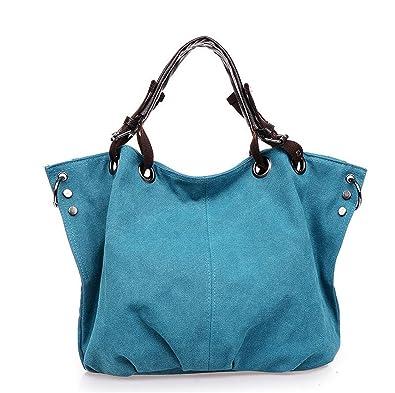 Amazon.com: Rick Rogers New Women Handbags Woman Canvas ...