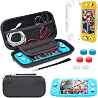 Carrying Case Compatible with Nintendo Switch Lite,Portable Travel Protective Hard Case with 8 Games Cartridges…