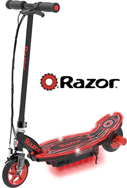 Amazon.com: Razor Power Core E90 Glow - Patinete eléctrico ...