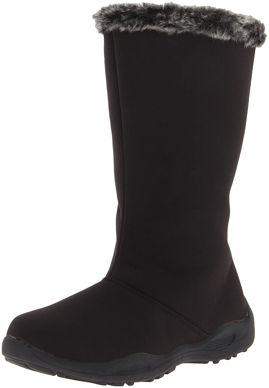 Propet Women's Madison Tall Zip Boot B00BBI2B0C 6 D US|Black