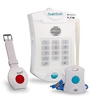 Suresafe personal alarms 1 x wristwatch 1 x pendant oap fall care suresafe personal alarms 1 x wristwatch 1 x pendant oap fall care alert combo aloadofball Images