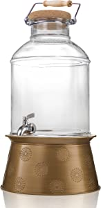 Artland Corona Beverage Dispenser, 3 Gallon, Clear