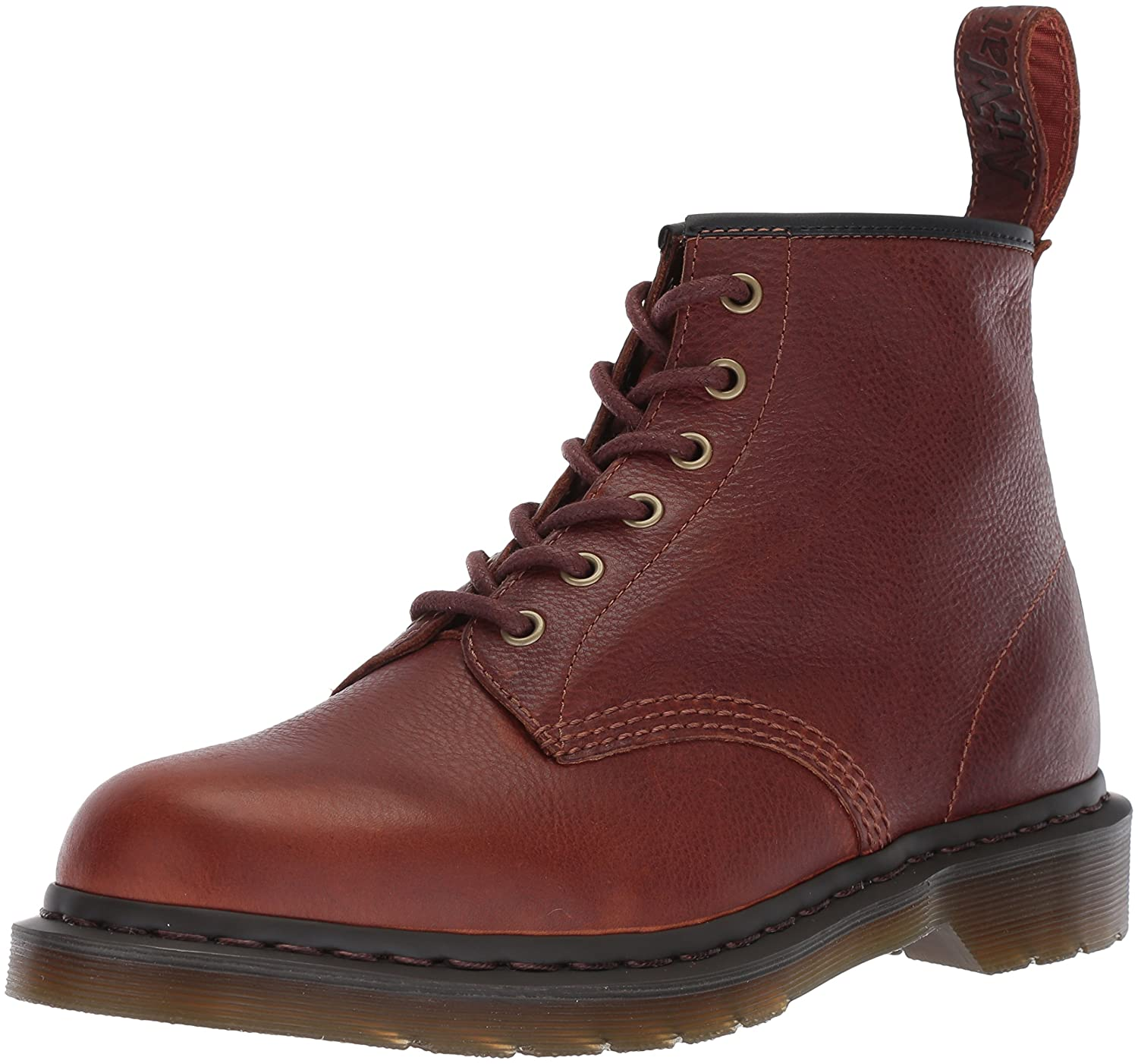 Martens 101 Tan Harvest Leather Fashion Boot Dr