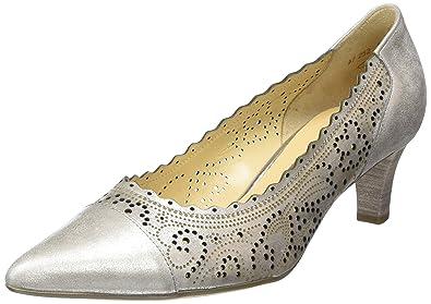 Gabor Shoes, Women's Closed Toe Pumps, Beige (61 Puder), 4