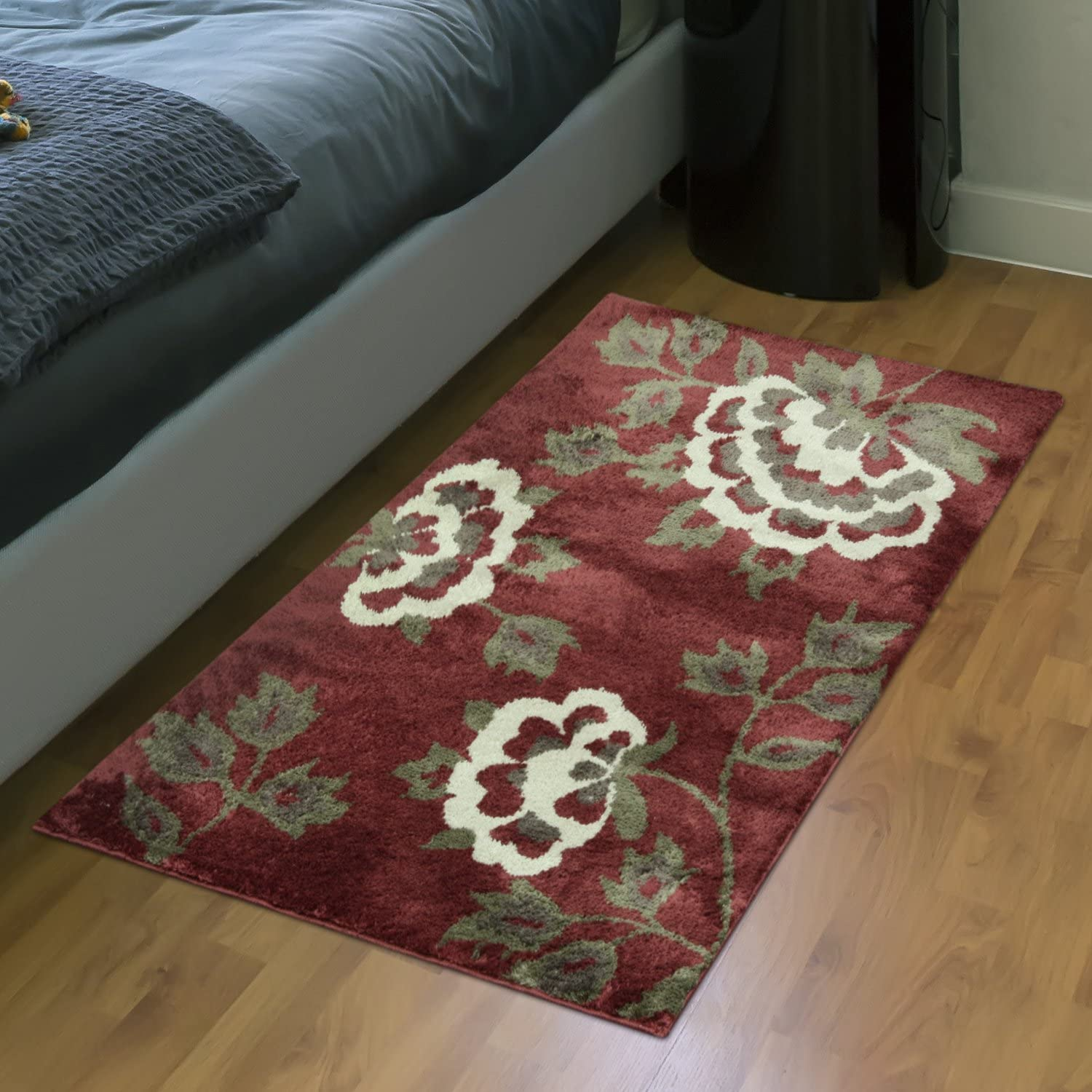 32 x 20 Cashlon Skid Resistant Newberry Gold Accent Rug