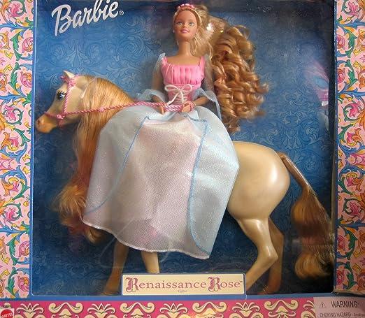 Amazon.com: Barbie Renacimiento Rose Giftset – Muñeca Barbie ...