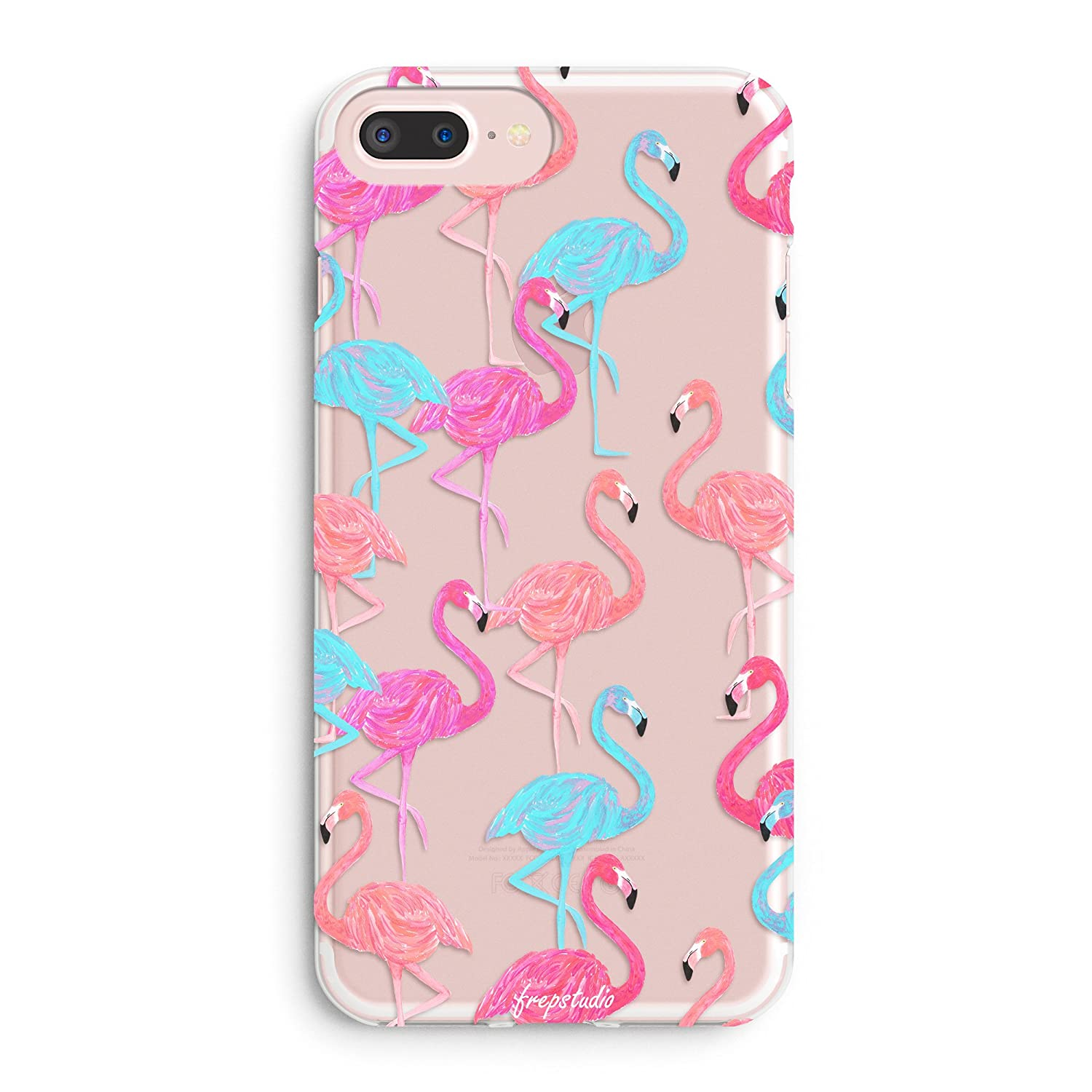 hot sale online 1eec6 16ed2 iPhone 6 Plus Case,iPhone 6s Plus Case,Aloha Summer Pink Fashion Flamingos  Colorful Cute Tropical Pink Animal Bird Girls Spring Hawaii Overload ...