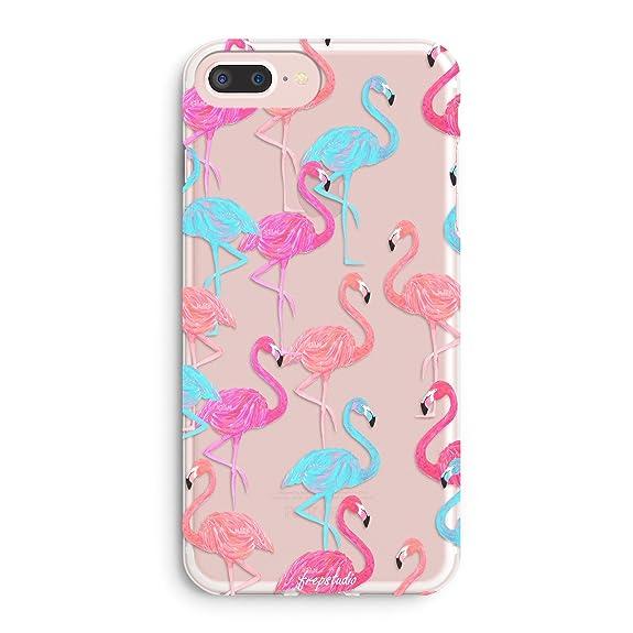 iphone 7 case pink flamingo