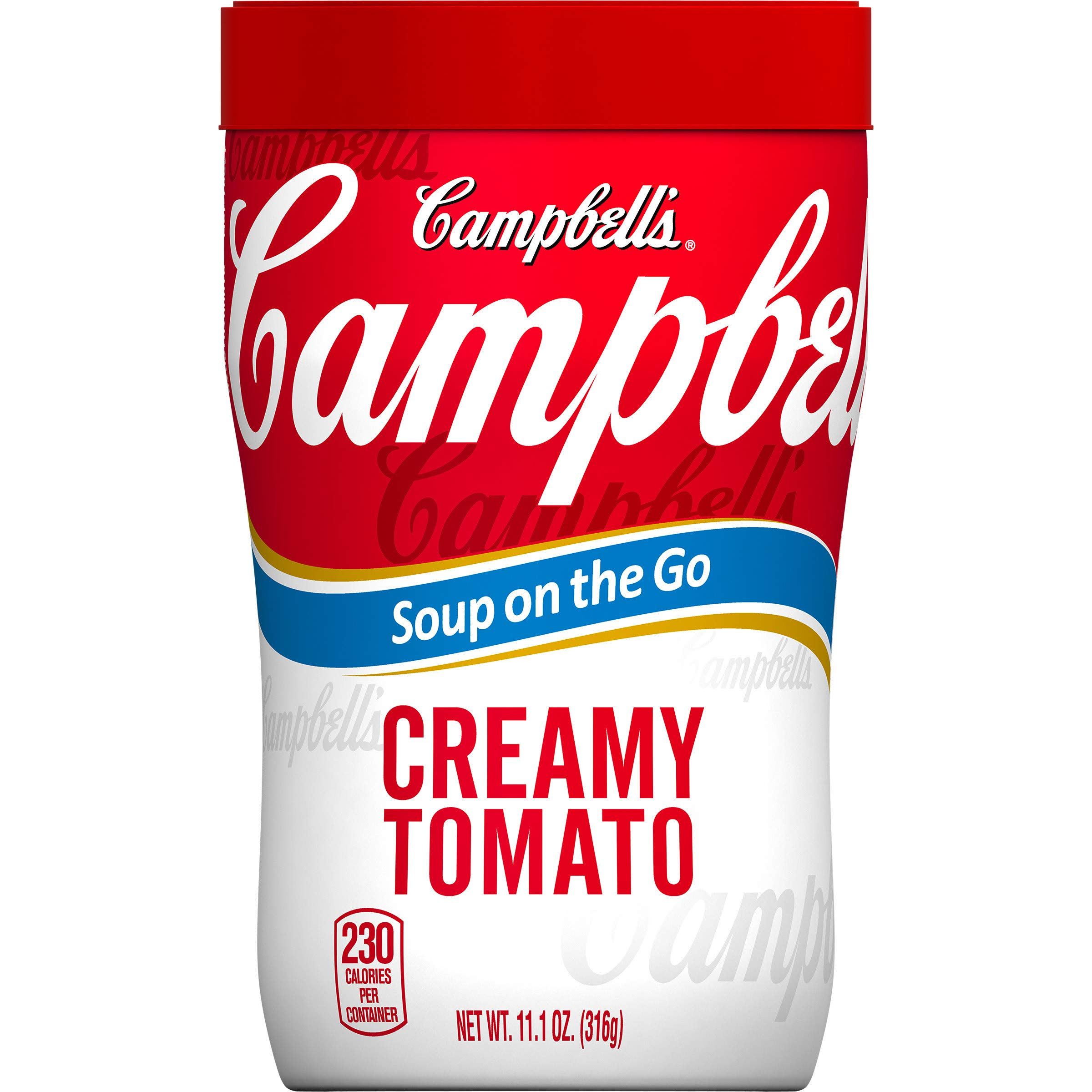 Campbell's Soup on the Go, Creamy Tomato, 10.75 Ounce (Pack of 8)
