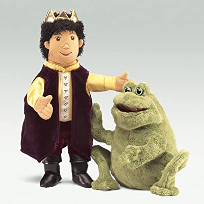 Folkmanis Puppets – 2826 – Puppet Theatre – Frog Prince: Toys & Games