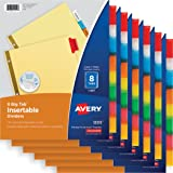 Paper Insertable, Big Tab, 8 Tab MC, 6 Pk