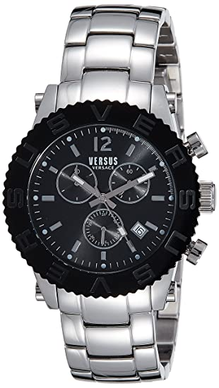 Buy Versus by Versace Analog Black Dial Men s Watch - SOH02 0015 Online at  Low Prices in India - Amazon.in 7347ceea2ed5e