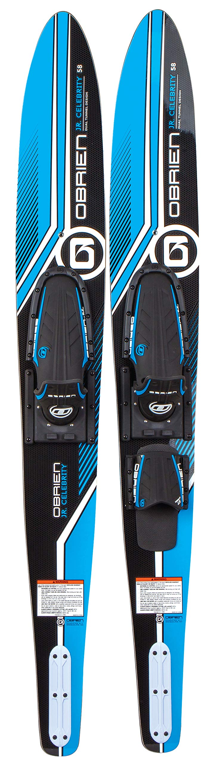 O'Brien Jr. Celebrity Combo Water Skis, 58''