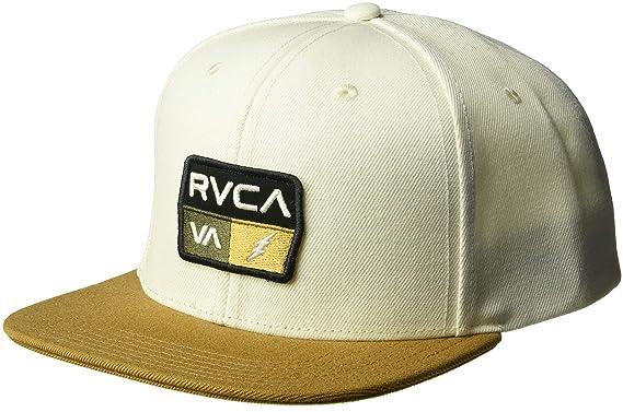 Amazon.com  RVCA Men s 9VOLT Snapback HAT 7fbeec77430