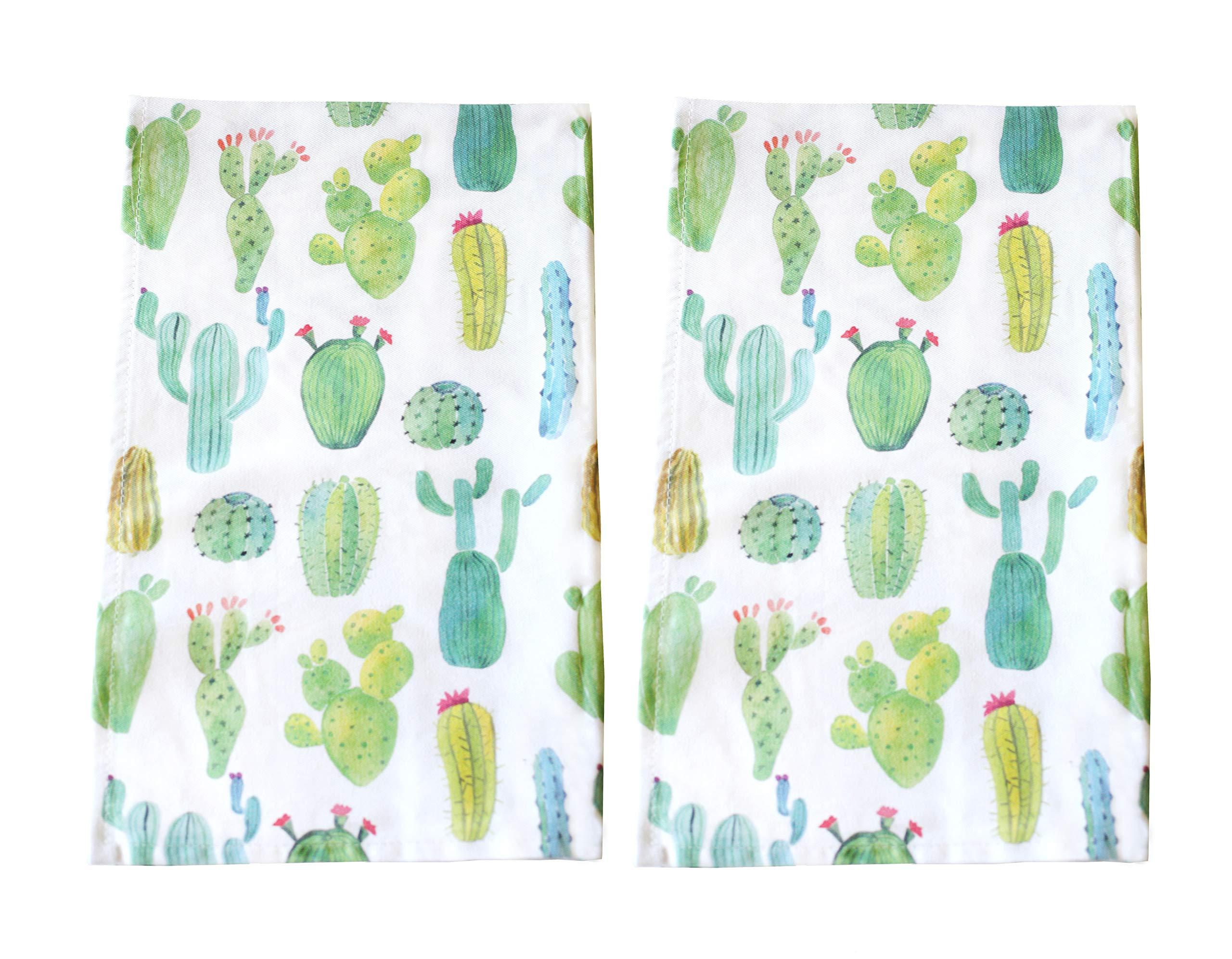 Sunshine Vibes Cactus Tea Towel Set of 2