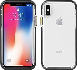 iPhone X Case | Pelican Ambassador iPhone X Case (Clear/Black)