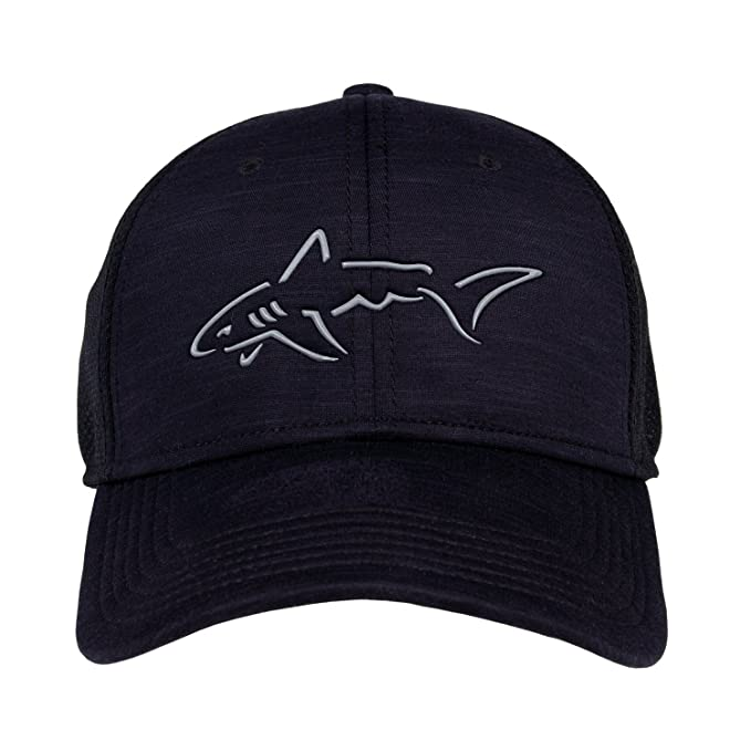Amazon.com : Greg Norman Heather Mesh Stretch Fit Hat : Sports & Outdoors