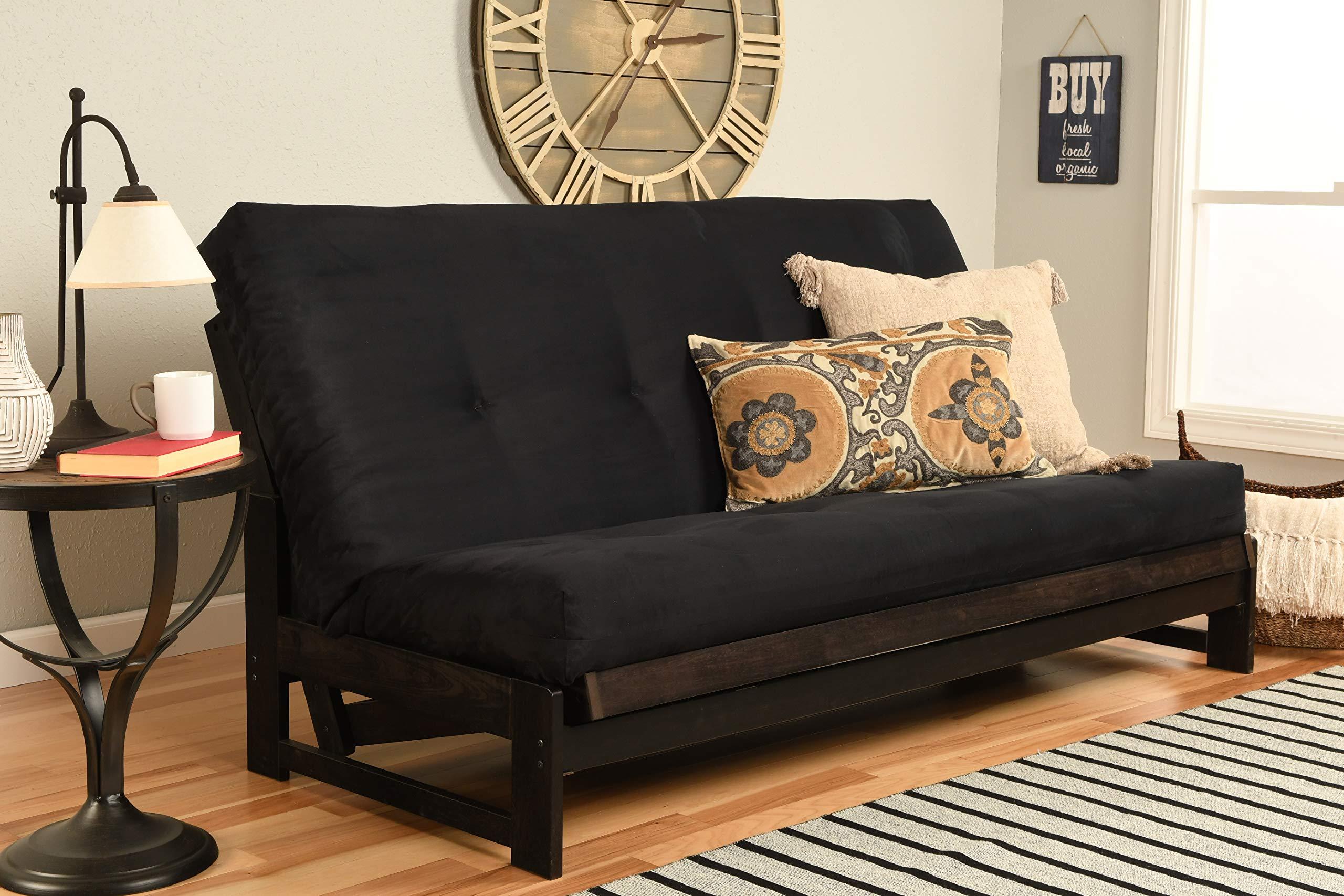 Kodiak Aspen Futon Set with Reclaim Mocha Finish by Kodiak Furniture