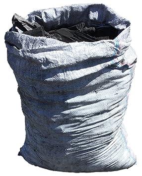 Cheerful Bargains Saco DE 15 kg para Barbacoa, Carbón de Carbón de Grado Restaurante,